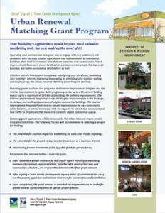 MatchingGrantProgram