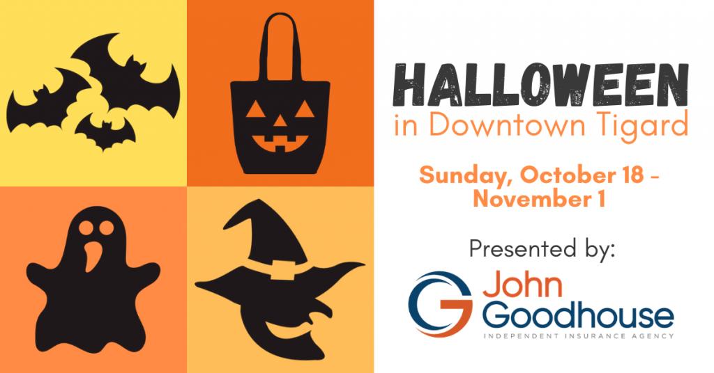 Halloween in Downtown Tigard