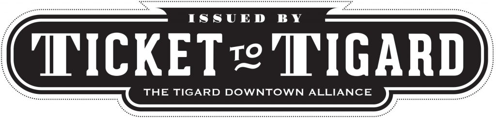 Ticket to Tigard banner